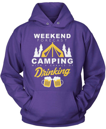 Camping Weekend Forecast - T-Shirts
