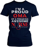 Proud Oma of An Awesome Nurse