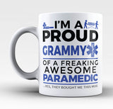 Proud Grammy of An Awesome Paramedic - Mug
