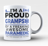 Proud Gramps of An Awesome Paramedic - Coffee Mug / Tea Cup