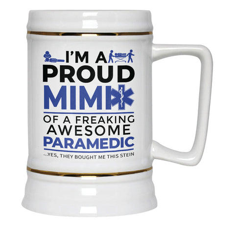 Proud Mimi of An Awesome Paramedic - Beer Stein