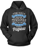 My Papaw the Hero Pullover Hoodie Sweatshirt