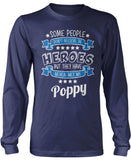 My Poppy the Hero Longsleeve T-Shirt