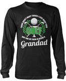 This Grandad Loves Golf Longsleeve T-Shirt