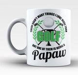 This Papaw Loves Golf - Mug