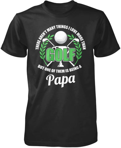 This (Nickname) Loves Golf - Personalized T-Shirt
