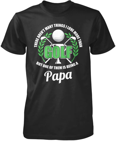 This Papa Loves Golf T-Shirt