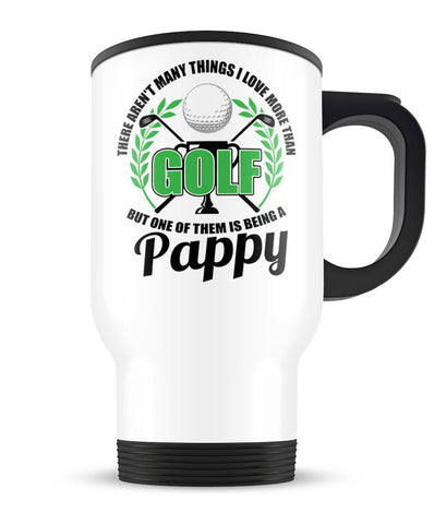 This Pappy Loves Golf - Travel Mug