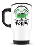 This Poppy Loves Golf - Travel Mug