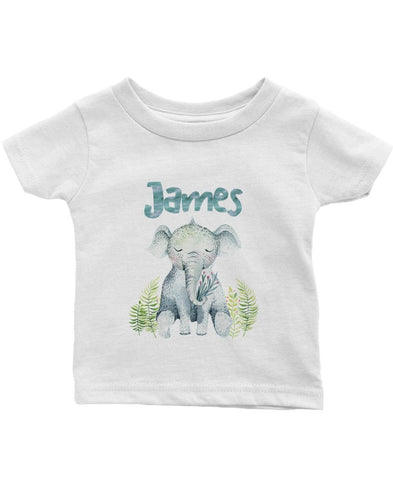 Elephant Safari - Personalized Children's T-Shirt - Children's T-Shirts