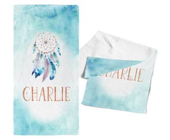Dream Catcher - Personalized Towel - Towels