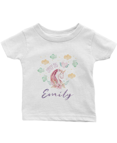 Magical Unicorn - Personalized Infant & Toddler T-Shirt