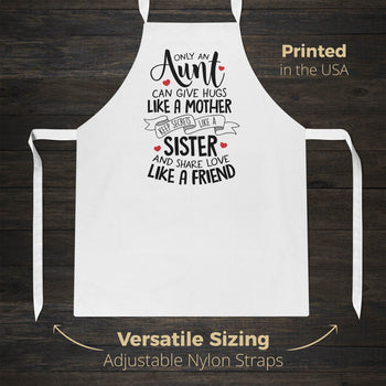 Only An Aunt Can - Apron - [variant_title]