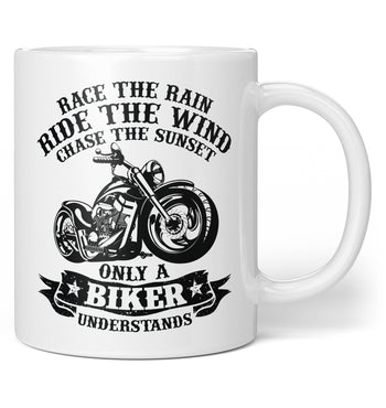 Only A Biker Understands - Coffee Mug / Tea Cup