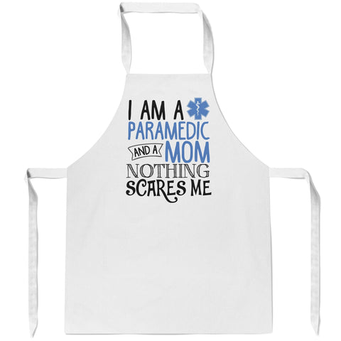 Paramedic (Nickname) Nothing Scares Me - Personalized Apron