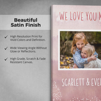 Keepsake Personalized Photo Canvas -  [variant_title]