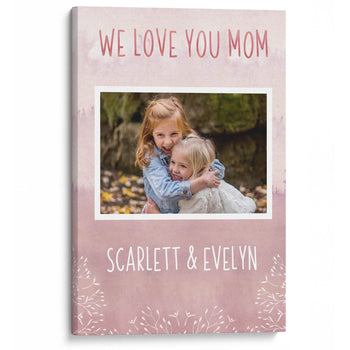 Keepsake Personalized Photo Canvas