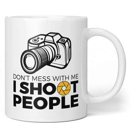 Photographer - I Shoot People - Coffee Mug / Tea Cup