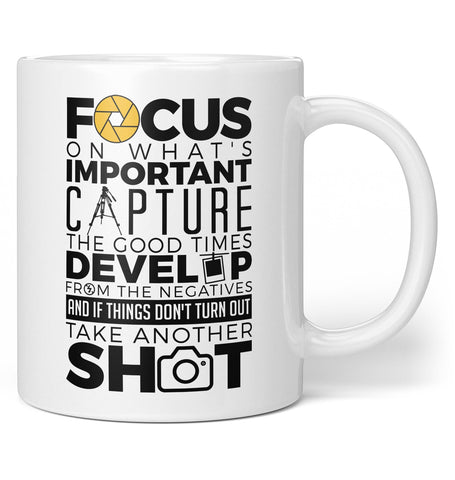 The Photography Code - Coffee Mug / Tea Cup