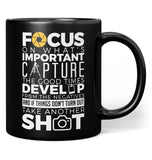 The Photography Code - Mug - Black / Regular - 11oz