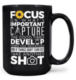 The Photography Code - Mug - Black / Large - 15oz