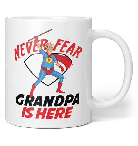Never Fear (Nickname) Is Here - Personalized Mug / Tea Cup