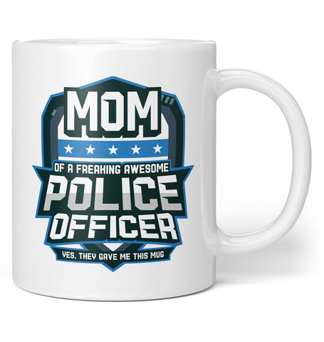 (Nickname) of an Awesome Police Officer - Personalized Mug / Tea Cup