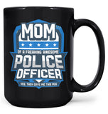 (Nickname) of an Awesome Police Officer - Mug