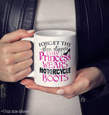 This Princess Wears Motorcycle Boots - Mug - [variant_title]