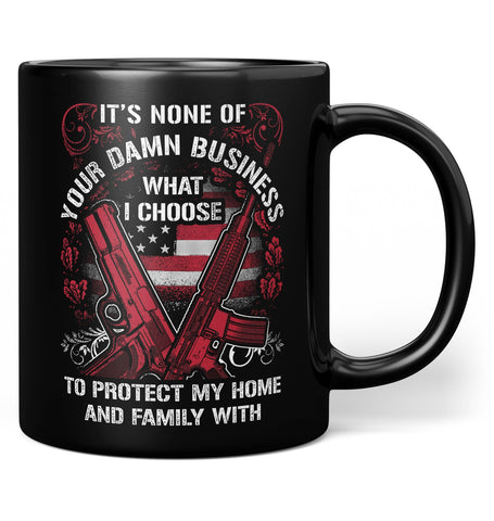 Protect My Family - Coffee Mug / Tea Cup