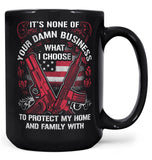Protect My Family - Mug - Large - 15oz