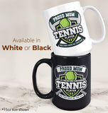 Proud (Nickname) of an Awesome Tennis Player - Mug - [variant_title]