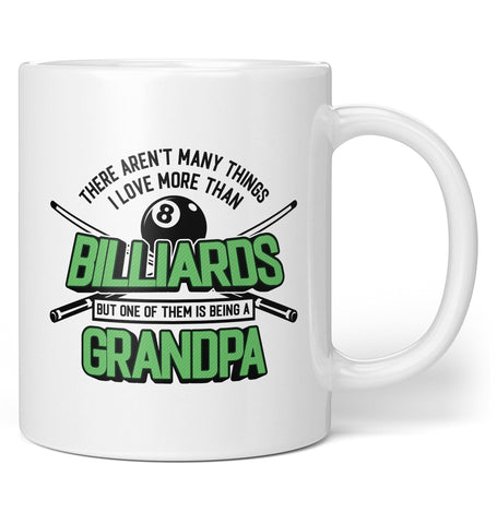 This (Nickname) Loves Billiards - Personalized Mug / Tea Cup