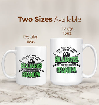 This (Nickname) Loves Billiards - Mug - [variant_title]