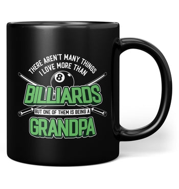 This (Nickname) Loves Billiards - Mug - Black / Regular - 11oz