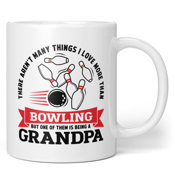 This (Nickname) Loves Bowling - Personalized Mug / Tea Cup