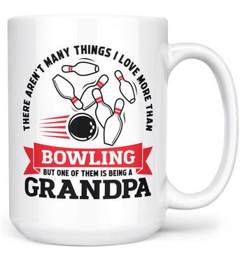 This (Nickname) Loves Bowling - Mug - White / Large - 15oz