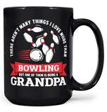 This (Nickname) Loves Bowling - Mug - Black / Large - 15oz
