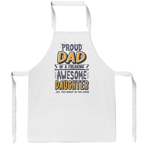 Proud Parent/Grandparent - Personalized Apron