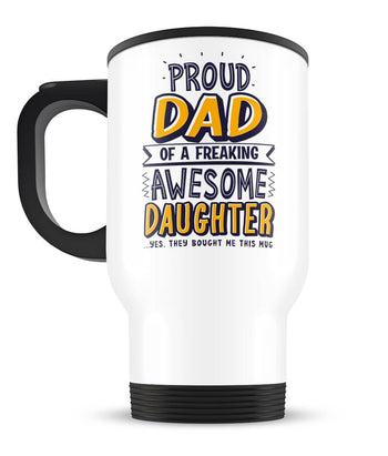 Proud Parent/Grandparent - Personalized Travel Mug - [variant_title]