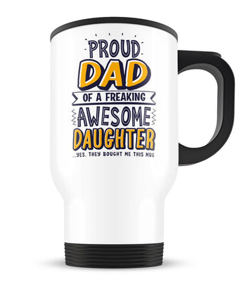 Proud Parent/Grandparent - Personalized Travel Mug