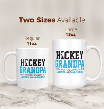 Loud and Proud Hockey (Nickname) - Blue - Mug - [variant_title]