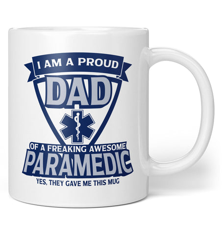 Proud (Nickname) of An Awesome Paramedic - Personalized Mug / Tea Cup
