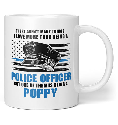 This (Nickname) Loves Being a Police Officer - Personalized Mug