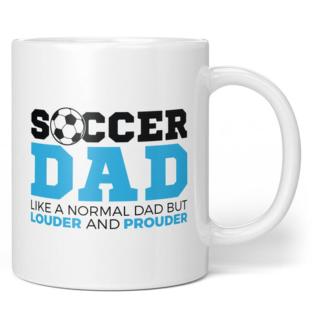 Loud and Proud Soccer (Nickname) - Personalized Coffee Mug / Tea Cup