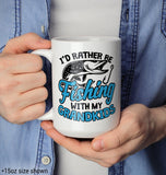 I'd Rather Be Fishing with My Grandkids - Mug - [variant_title]