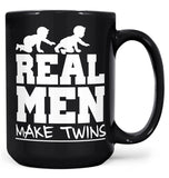 Real Men Make Twins - Mug - Black / Large - 15oz