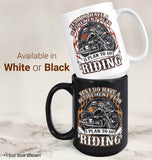 Yes I Do Have a Retirement Plan, Riding - Mug - [variant_title]