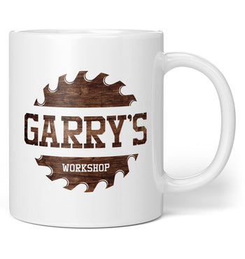 Sawblade Personalized Workshop - Personalized Mug / Tea Cup