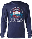 Favorite Baseball Player - Mine Calls Me Grandma